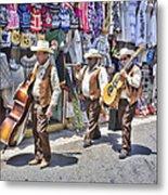Musicians La Bufadora Metal Print