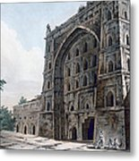 Musjid At Jaunpur Metal Print