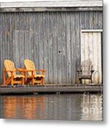 Muskoka Chairs Metal Print