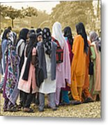 Muslim Girls Metal Print