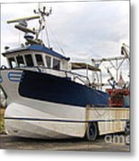 Mussel Boat Metal Print