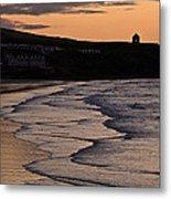 Mussenden Sunset Metal Print