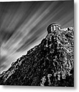 Mussenden Temple - On The Edge Metal Print