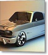 Mustang 66 Metal Print