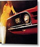 Mustang '70 Metal Print