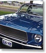 Mustang Classic Metal Print
