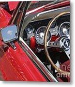 Mustang Classic Interior Metal Print