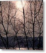 Muted Sunrise Metal Print