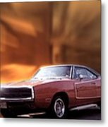 My 70 Charger 440 Six Pack Metal Print