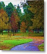 My Autumn Metal Print