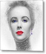 My Beautiful Elizabeth Taylor No 2 Metal Print