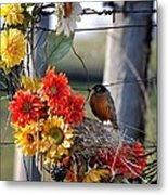 My Beautiful Nest Metal Print