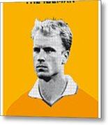 My Bergkamp Soccer Legend Poster Metal Print