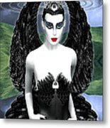 My Black Swan Metal Print