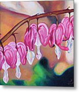 My Bleeding Hearts Out On A Limb Metal Print