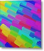 My Box Of Color Metal Print