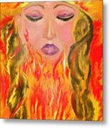 My Burning Within Metal Print