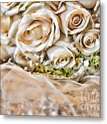 My Daughter's Bouquet By Diana Sainz Metal Print