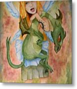 My Dragon Metal Print