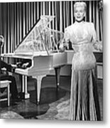 My Dream Is Yours, Doris Day, In A Gown Metal Print