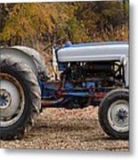 My Faithful Tractor Metal Print