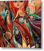 My Fiery Fairy Gwendolyn Metal Print
