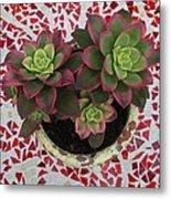 My Garden Series - Mosaica Metal Print
