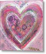 My Glittering Heart Metal Print