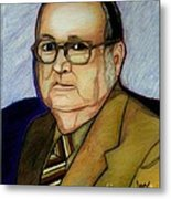 My Grandfather At A Younger Age Metal Print