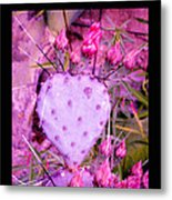 My Heart Pains Me To Be Without You 3 Metal Print