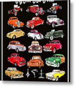 Hot Rod Ford Poster Metal Print