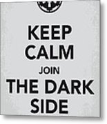 My Keep Calm Star Wars - Galactic Empire-poster Metal Print