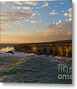 My Land Is The Sea Metal Print