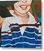 My Little Brother Metal Print