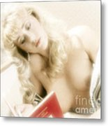 My Little Red Book Metal Print