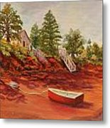 My Little Red Dory Metal Print