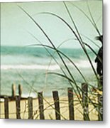 My Love The Sea Metal Print by Sharon Coty