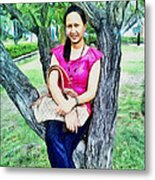 My Lovely Wife Metal Print