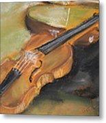My Lttle Violin Metal Print