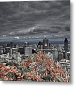 My Montreal's Colors Metal Print