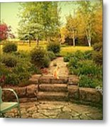 My Mother's Garden Metal Print by Dawn Vagts