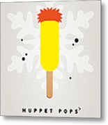 My Muppet Ice Pop - Beaker Metal Print by Chungkong Art
