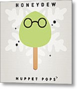 My Muppet Ice Pop - Dr Bunsen Honeydew Metal Print
