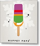 My Muppet Ice Pop - Dr Teeth Metal Print by Chungkong Art