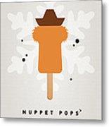 My Muppet Ice Pop - Fozzie Bear Metal Print