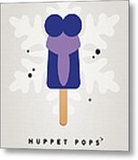 My Muppet Ice Pop - Gonzo Metal Print