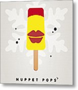 My Muppet Ice Pop - Janice Metal Print