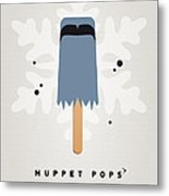 My Muppet Ice Pop - Sam The Eagle Metal Print
