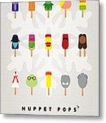 My Muppet Ice Pop - Univers Metal Print
