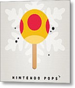 My Nintendo Ice Pop - Mega Mushroom Metal Print by Chungkong Art